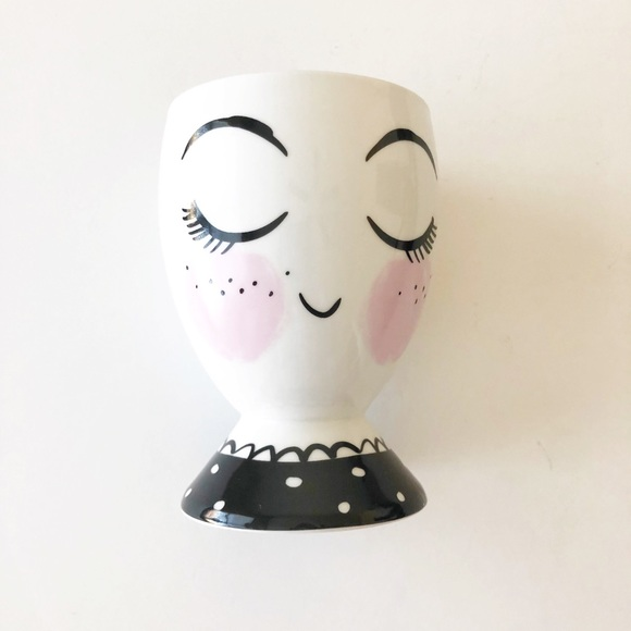 Threshold Face Ceramic Pencil Holder Trinket Dish